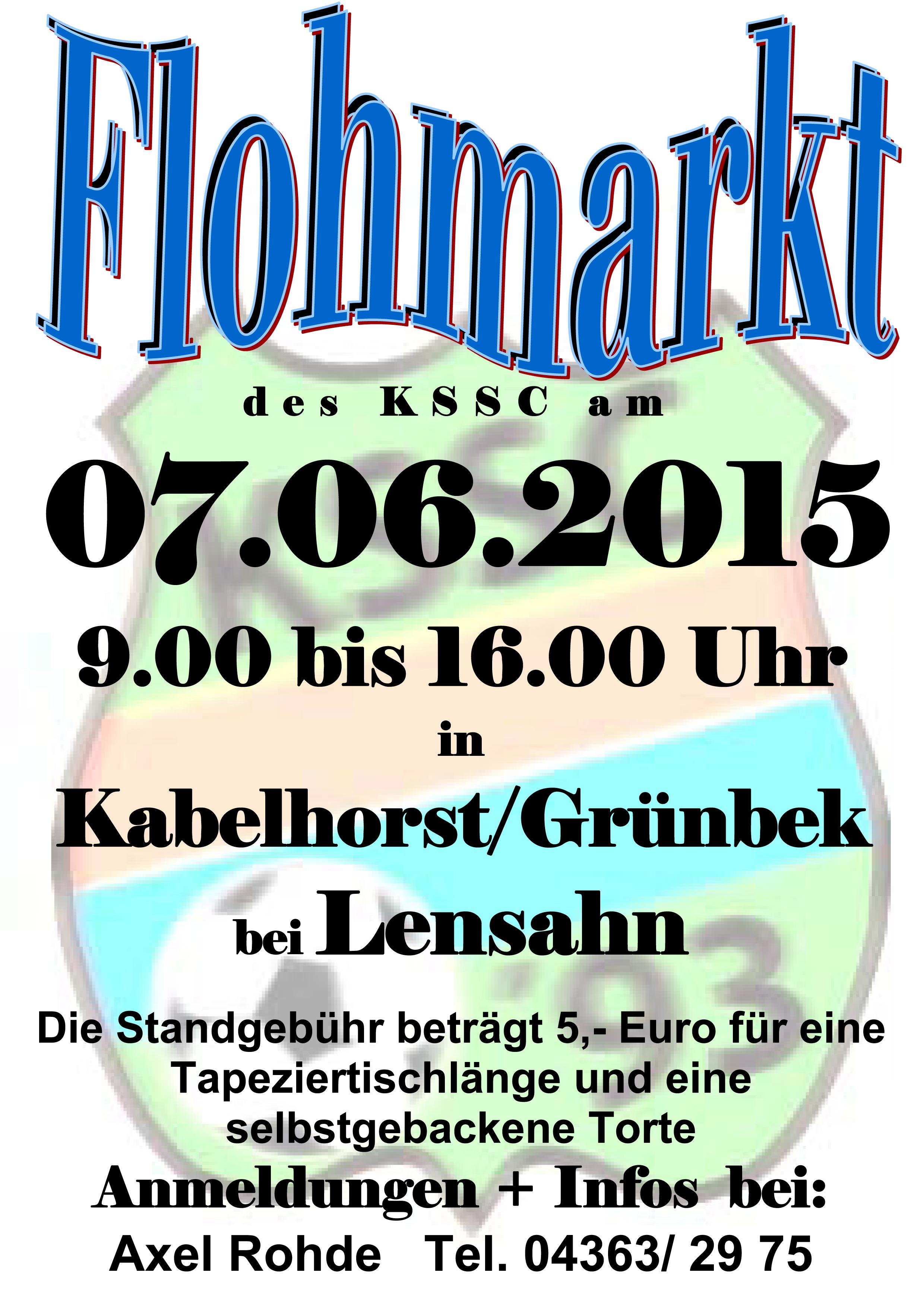 kssc gro flohmarkt am sonntag den kssc online