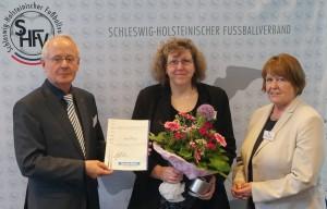 SHFV-Frauenehrenamtspreis 2016 Dagmar Rohde